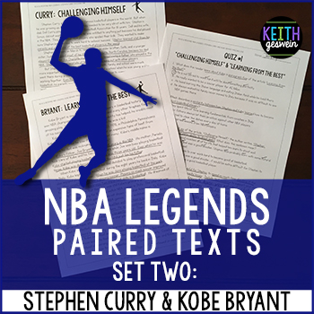 Steph Curry Kobe Bryant Paired Texts