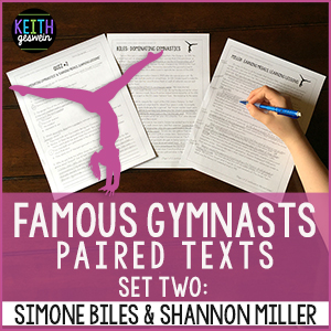 Simone Biles Shannon Miller Paired Texts