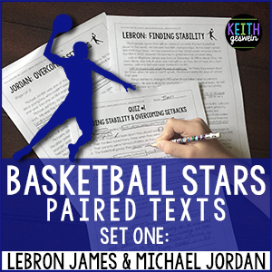 LeBron James Michael Jordan Paired Texts