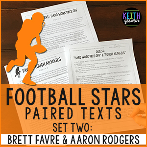 Aaron Rodgers Brett Favre Paired Texts