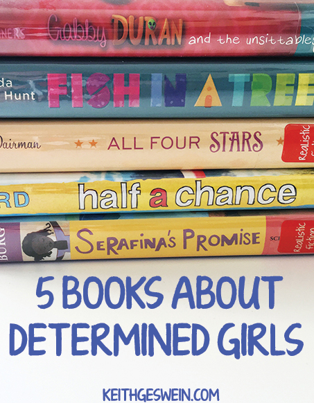 Books about determined girls