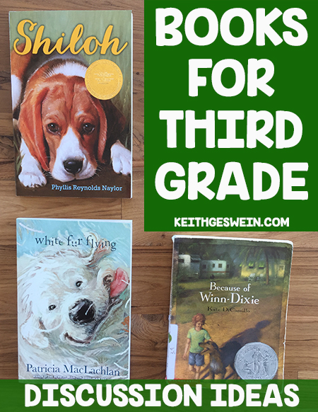 Books third graders will love