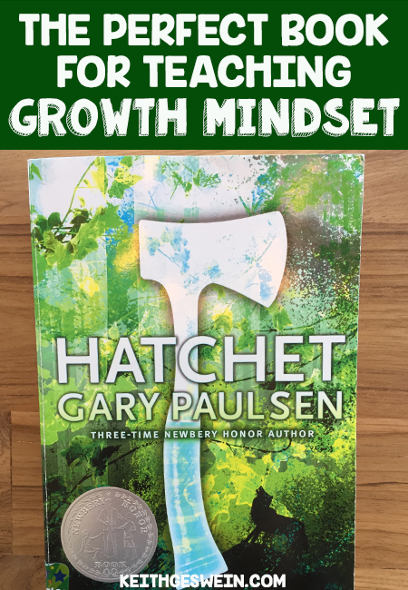 Teaching growth mindset with Hatchet